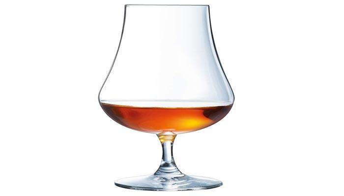 copa para beber ron