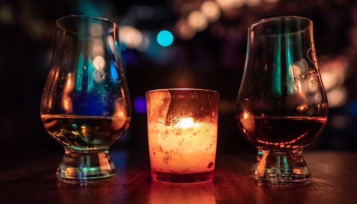 vasos para beber ron