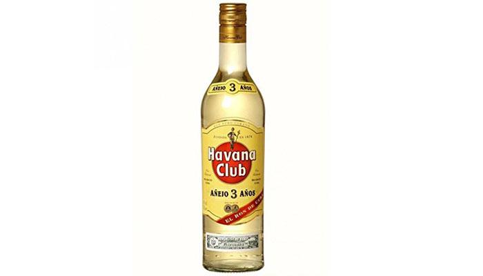 havana club tres años blanco