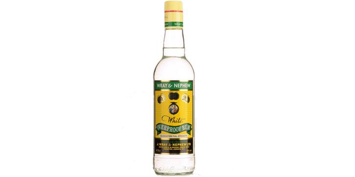 ron blanco de Jamaica