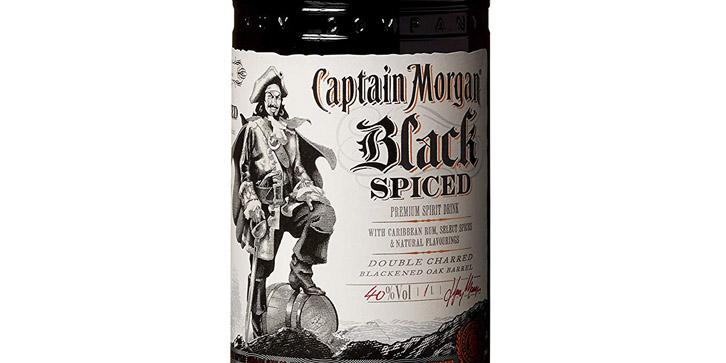ron capitán Morgan oscuro